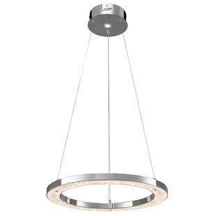 Orren Ellis Scull 1-Light Drum Pendant