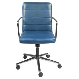 Union Rustic Hamisi Low Back Office Chair