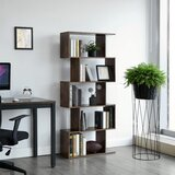 Clarklake Wooden Geometric Bookcase by Union Rustic