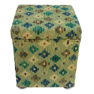 Tipton Kilim Storage Ottoman by August Grove