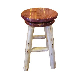 Millwood Pines Myrtle Swivel Bar Stool