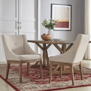 Irving Place Linen Upholstery Dining Chair (Set of 2)