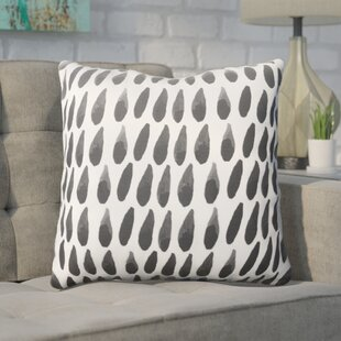 Middleton Drops Cotton Throw Pillow