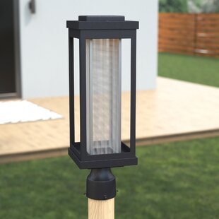 Affordable Price Cavazos Outdoor 1-Light LED Lantern Head By Latitude Run