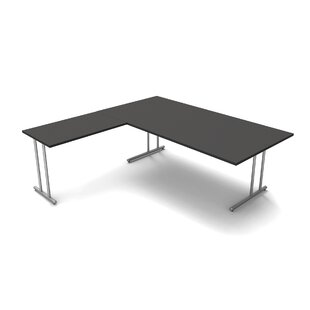 Folkestone L-Shape Desk By Symple Stuff