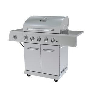 5-Burner Propane Gas Grill with Cabinet by Dyna-Glo