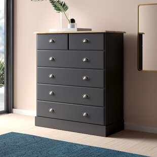 Kaiden 6 Drawer Chest By Hykkon