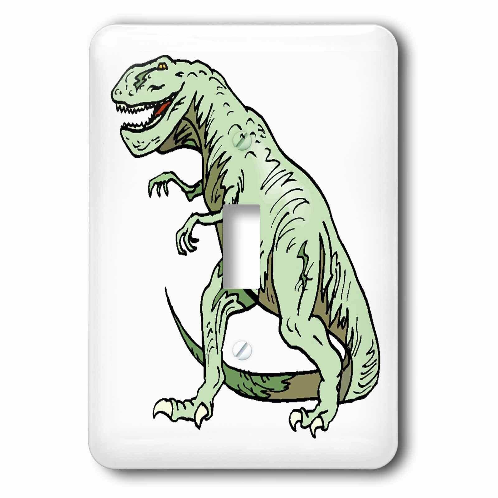 3drose Rex Dinosaur 1 Gang Toggle Light Switch Wall Plate Wayfair