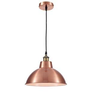 OHR Lighting Lammin Modern 1 Light Inverted Pendant