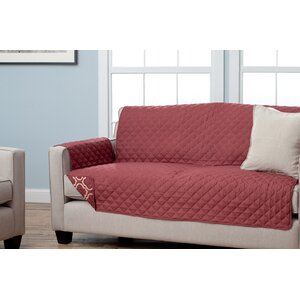 Scroll Box Cushion Sofa Slipcover