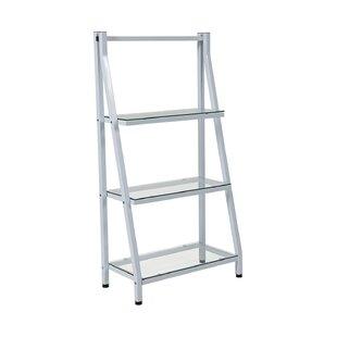 Pottorff Glass Ladder Bookcase by Ebern Designs