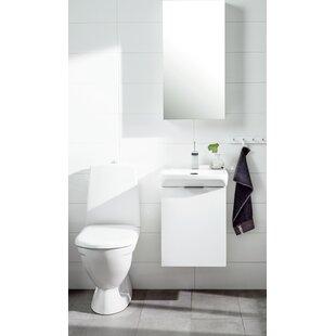Philomene 40cm Wall-Mounted Vanity Unit Base By Ebern Designs