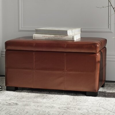 Leather Ottomans Amp Poufs You Ll Love In 2020 Wayfair