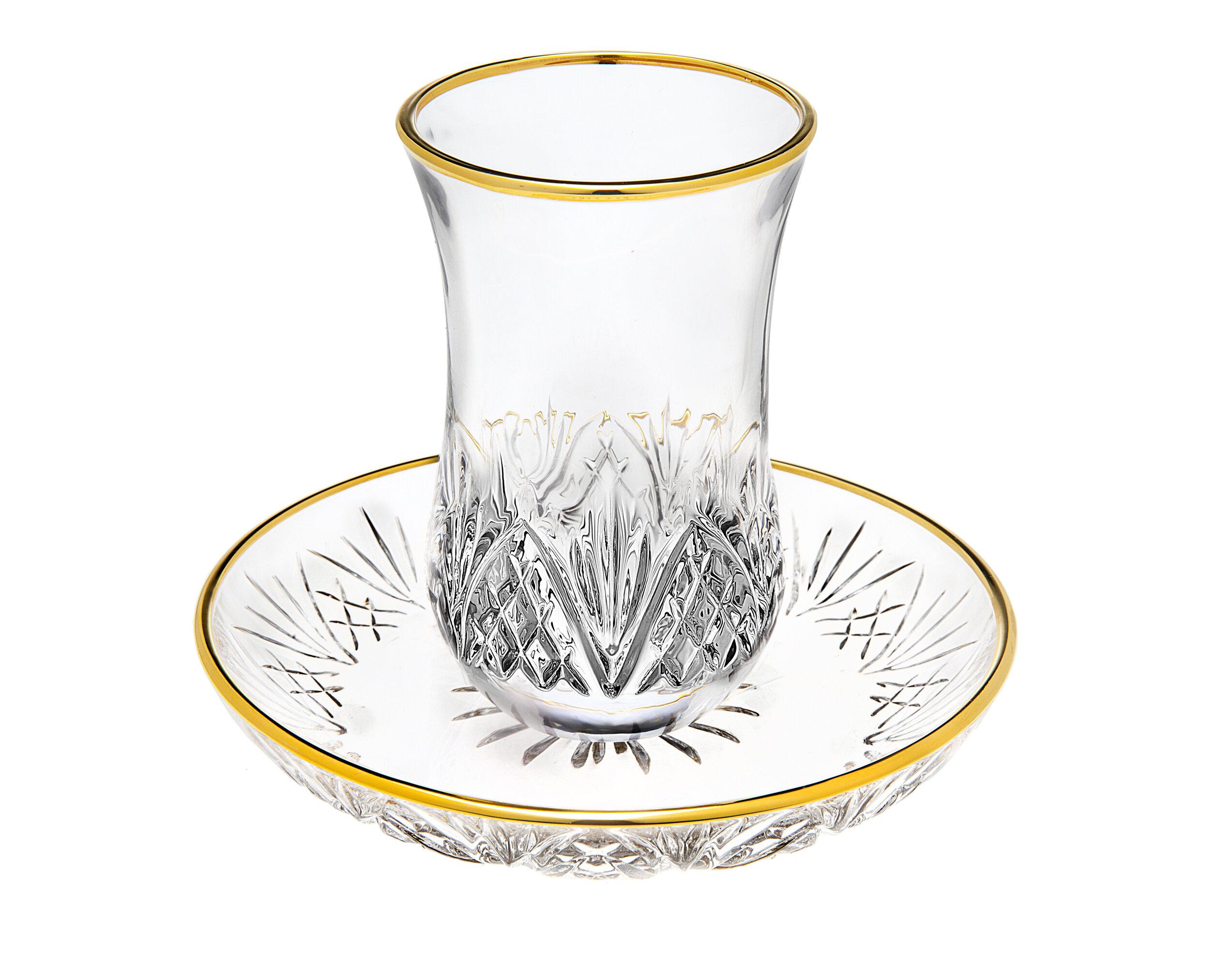 Godinger Silver Art Co Dublin Gold Rim Kiddush Cups Wayfair