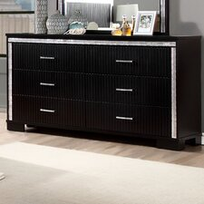 Viridian 6 Drawer Combo Dresser by House of Hampton