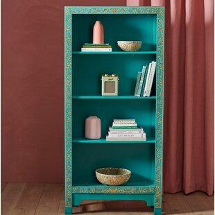 Classic Chinese Tall Wide Bookcase By The Nine Schools