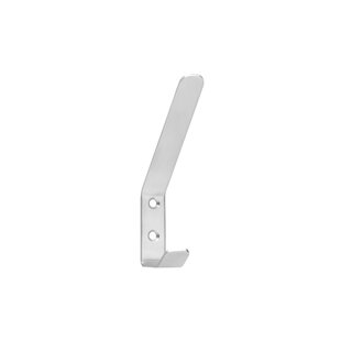 Stainless Steel Curved Hat Wall Hook By Symple Stuff
