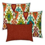 Elsaid Rock Canyons Indoor / Outdoor Pillow