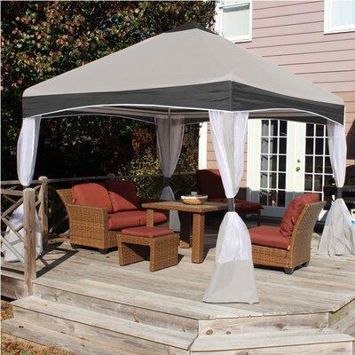King Canopy Garden Party 1.07 Ft. W x 1.07 Ft. D Steel Patio Gazebo Canopy