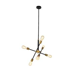 Wrought Studio Mullet 6-Light Sputnik Chandelier