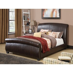 Hammett Upholstery Sleigh Bed by ACME Furniture
