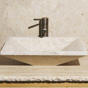 Compare & Buy Stone Rectangular Vessel Bathroom Sink ByAllstone Group