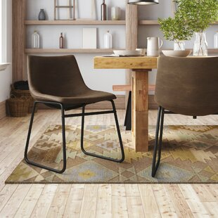 Myrick Upholstered Dining Chair (Set of 2) Union Rustic