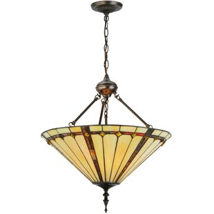 Meyda Tiffany Belvidere 3-Light Bowl Pendant