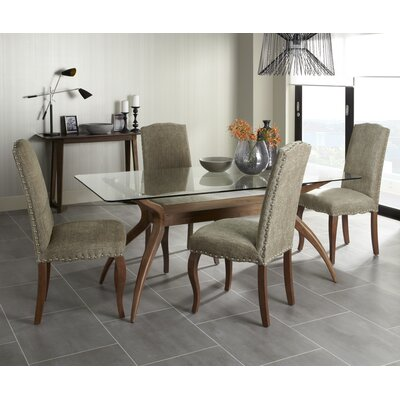 Dining Table And Fabric Chairs Wayfair Co Uk