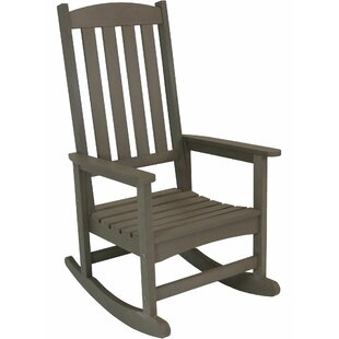 Millwood Pines Balfour All-Weather Rocking Chair