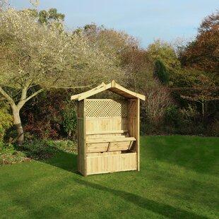 Leyden Wooden Arbour By Sol 72 Outdoor