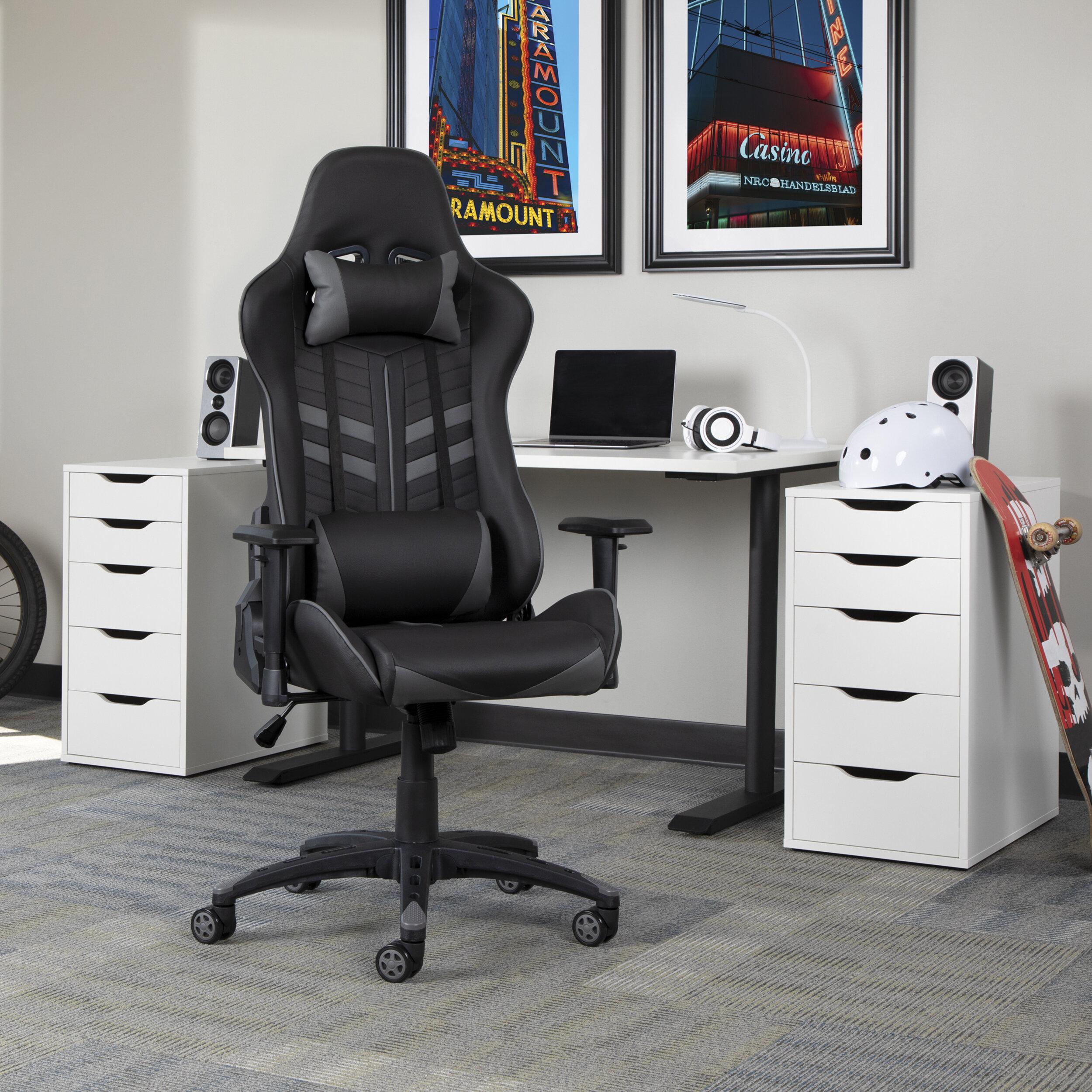 Sensational Jones Street Racing Ergonomic Gaming Chair Ibusinesslaw Wood Chair Design Ideas Ibusinesslaworg