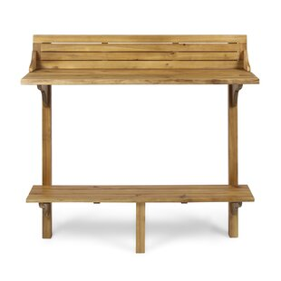 Bushnell Wooden Balcony Table
