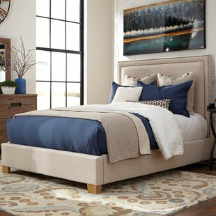 Loon Peak Madeleine Upholstered Panel Bed