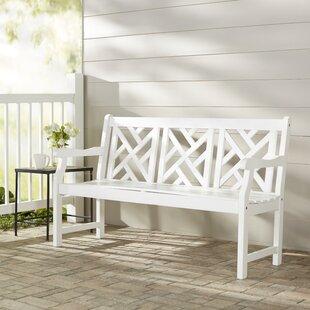 Mahler Acacia Wood Garden Bench