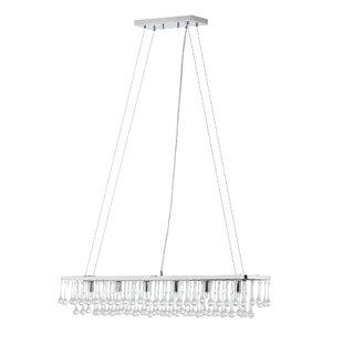 Brawley 6-Light Rectangular Chandelier