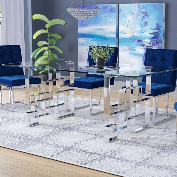Hartford Dining Table by Everly Quinn