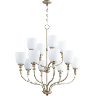 Charlton Home Falbo 12-Light Shaded Chandelier