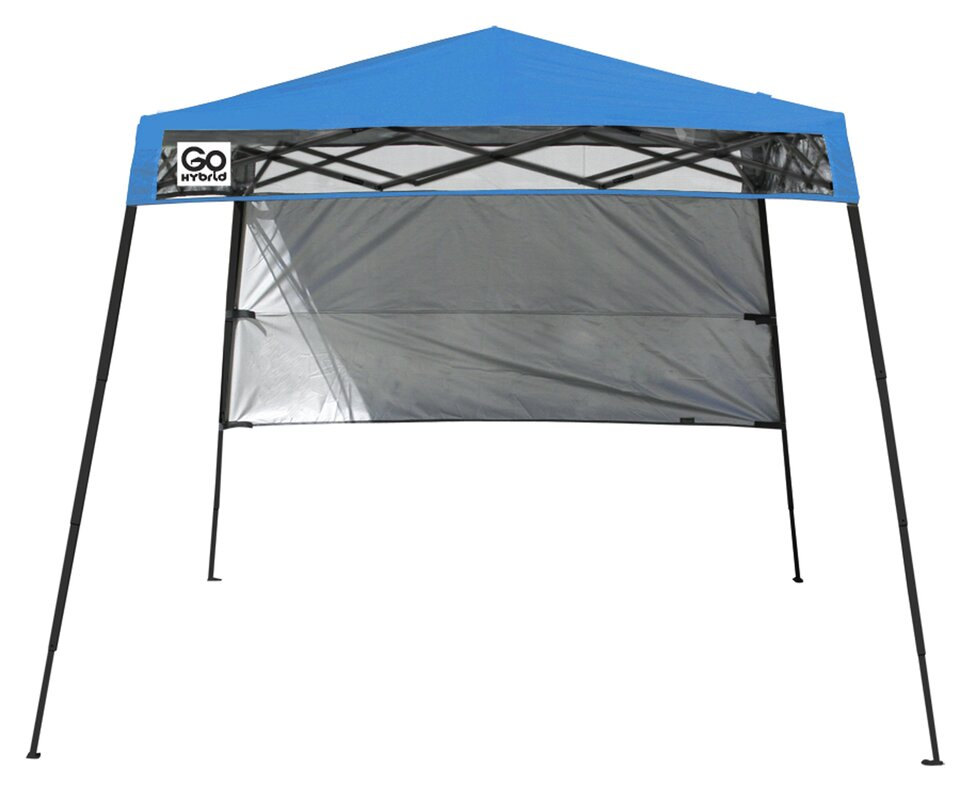 Quik Shade 7 Ft. W x 7 Ft. D Steel Pop-Up Canopy  sc 1 st  Wayfair : 8x10 pop up canopy - memphite.com