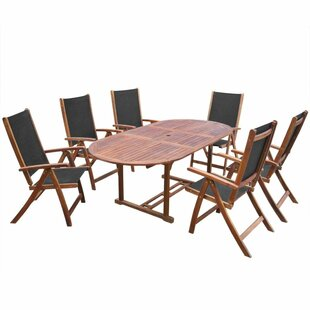 Hartman 6 Seater Dining Set By Sol 72 Outdoor