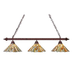 Meyda Tiffany Delta Jadestone 3-Light Kitchen Island Pendant