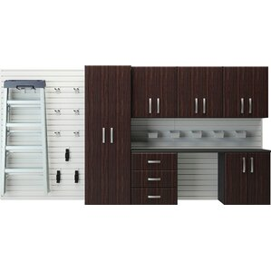 6u0027 h x 12u0027 w x 14u0027 d 24 piece wall storage and