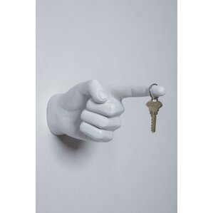 One Finger Pointing Wall Hook