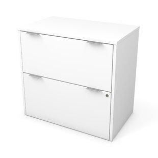 Brayden Studio Prattsburgh 2 Drawer Lateral Filing Cabinet
