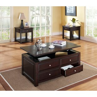 Nagle 3 Piece Coffee Table Set Andrew Home Studio