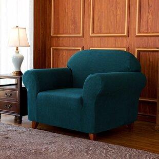 Box Cushion Armchair Slipcover By Rosalind Wheeler