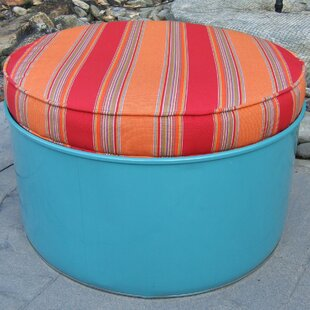 Tahoe Ottoman with Cushion by Drum Works Furniture