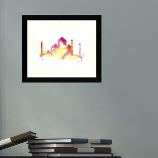 India Dreams Taj Mahal Framed Wall Art