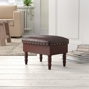 Devin Footstool By Marlow Home Co.