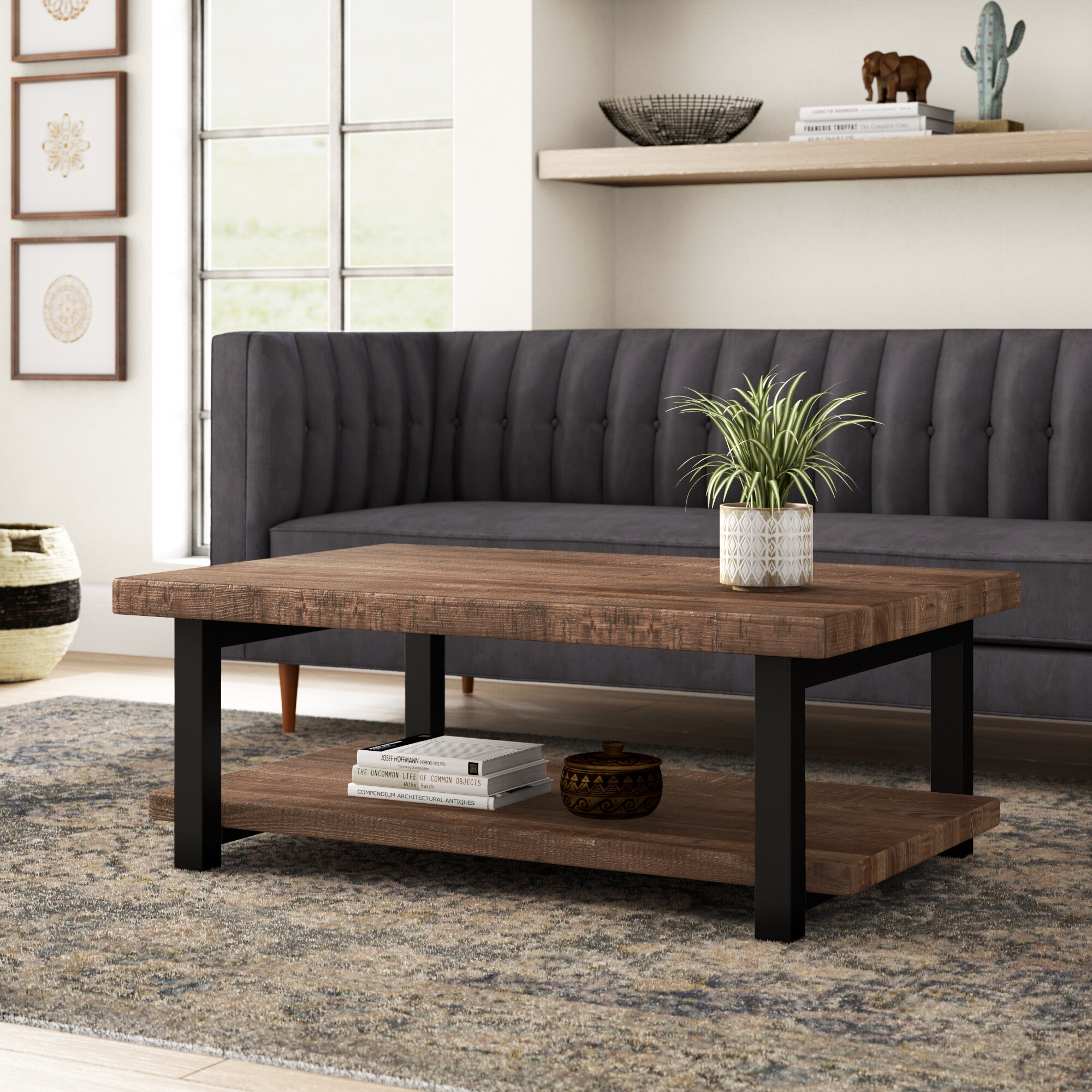 Reclaimed Coffee Tables You Ll Love In 2021 Wayfair